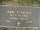 Profile photo:  Earl C Adams