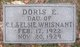Doris Evelyn Whisnant