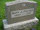 Profile photo:  Mary J. <I>Etter</I> Prather