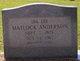Ida Lee <I>Matlock</I> Anderson