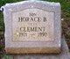 """Profile photo:  Horace B. """"Pete"""" Clement"""