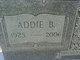 Profile photo:  Addie Bell Weeks