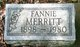 Fannie V. <I>Smith</I> Merritt