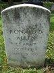 Profile photo:  Ronald D. Allen