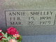 Annie <I>Shelley</I> Carpenter