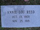 Annie Lou Reed