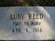 Luby Reed