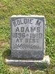 Goldie M Adams