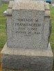 Amanda M. <I>Frankenfield</I> Frankenfield