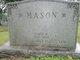 Profile photo:  Sadie J <I>Sneddon</I> Mason