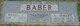 Profile photo:  A Hobart Baber
