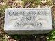 Profile photo:  Carrie <I>Straite</I> Ainey