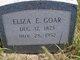 Profile photo:  Eliza E <I>Thomas</I> Goar