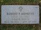 Profile photo:  Robert Franklin Arnette