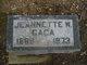 Profile photo:  Jeannette W <I>Williamson</I> Caca
