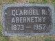 Claribel <I>Richardson</I> Abernethy