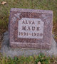 Profile photo:  Alva Clayton Mauk