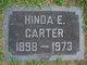 Hinda E Carter