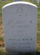 Gilbert Melvin Munden