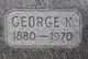 """George Kyger """"GK"""" Smith"""