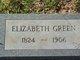 Elizabeth <I>Hendrix</I> Green