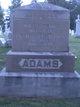 Profile photo:  Lizzie J <I>Fitzgerald</I> Adams