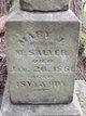 Mary J. <I>Wright</I> Salyer
