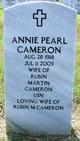 Profile photo:  Annie Pearl Cameron