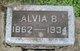 Profile photo:  Alvia Hawver
