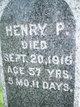 Henry P. Benedict