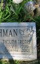 """Thelma Irene """"Rene"""" <I>Chapman</I> Bachman"""