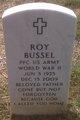 Profile photo:  Roy Bussel