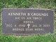 """Profile photo:  Kenneth Bert """"Ken"""" Grounds"""