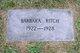 Barbara Ritch