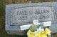 Faye O. <I>Crotser</I> Allen