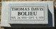 Profile photo:  Thomas Davis Balieu