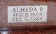 Almeda Helen <I>Palmer</I> Updike