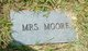 Profile photo: Mrs Moore