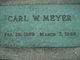 Carl W Meyer