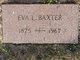 Eva Lena <I>Chapman</I> Baxter