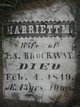 Harriett M Brockway