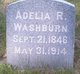 Profile photo:  Adelia R. Washburn