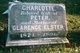 Charlotte <I>Cantrall</I> Elster