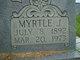 Profile photo:  Myrtle Jane <I>Baker</I> Barnes