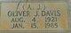 "Oliver J. ""A.J."" Davis"