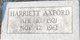 Harriett Axford