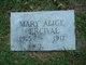 Profile photo:  Mary Alice Percival