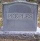 Profile photo: Rev Samuel W. Peeples