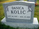 Profile photo:  Danica Kolic