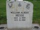 "William Albert "" "" <I> </I> Hesse,"